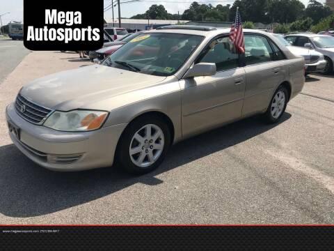 2003 Toyota Avalon for sale at Mega Autosports in Chesapeake VA