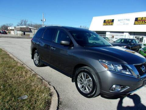 2015 Nissan Pathfinder for sale at HIGHWAY 42 CARS BOATS & MORE in Kaiser MO
