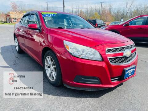 2013 Chevrolet Malibu for sale at Transportation Center Of Western New York in Niagara Falls NY
