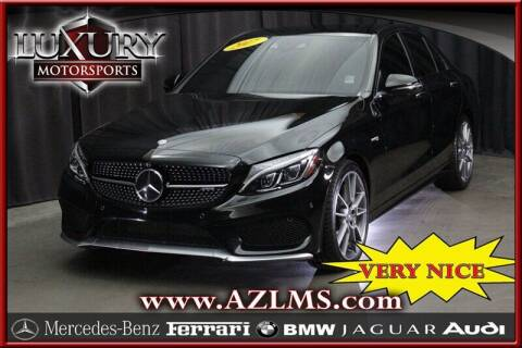 2017 Mercedes-Benz C-Class for sale at Luxury Motorsports in Phoenix AZ