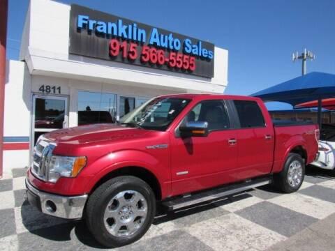 2012 Ford F-150 for sale at Franklin Auto Sales in El Paso TX