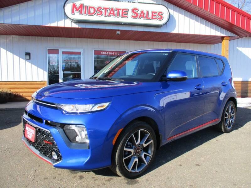 2020 Kia Soul for sale at Midstate Sales in Foley MN