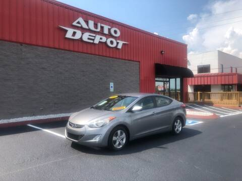 2012 Hyundai Elantra for sale at Auto Depot - Madison in Madison TN