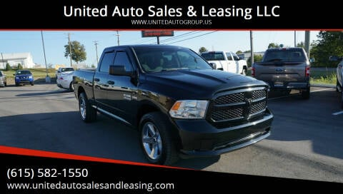 2013 RAM Ram Pickup 1500 for sale at United Auto Sales & Leasing LLC in La Vergne TN
