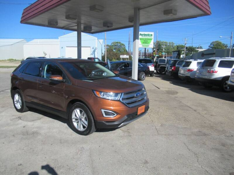 2017 Ford Edge for sale at Perfection Auto Detailing & Wheels in Bloomington IL
