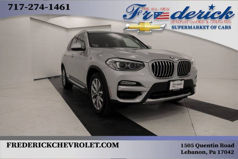 2018 BMW X3 for sale at Lancaster Pre-Owned in Lancaster PA