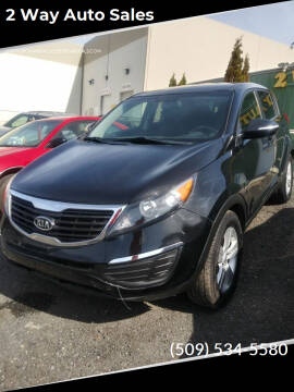 2012 Kia Sportage for sale at 2 Way Auto Sales in Spokane Valley WA