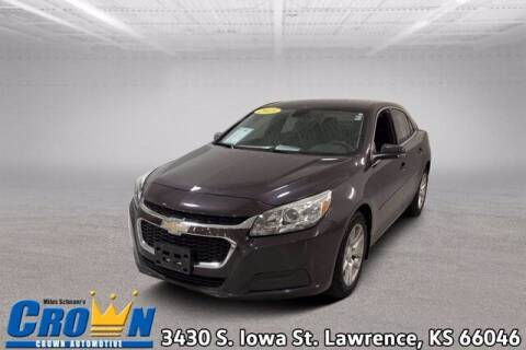 2015 Chevrolet Malibu for sale at Crown Automotive of Lawrence Kansas in Lawrence KS