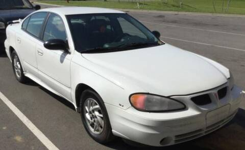 2004 Pontiac Grand Am for sale at D & J AUTO EXCHANGE in Columbus IN