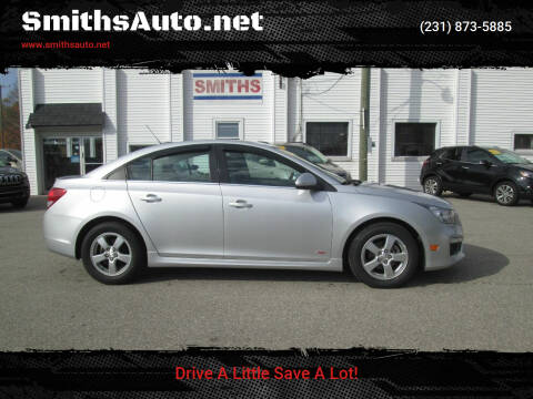 2015 Chevrolet Cruze for sale at SmithsAuto.net in Hart MI