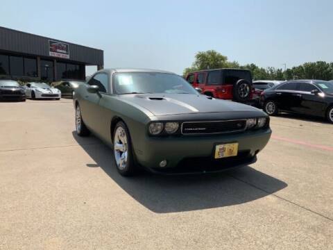 2013 Dodge Challenger for sale at KIAN MOTORS INC in Plano TX