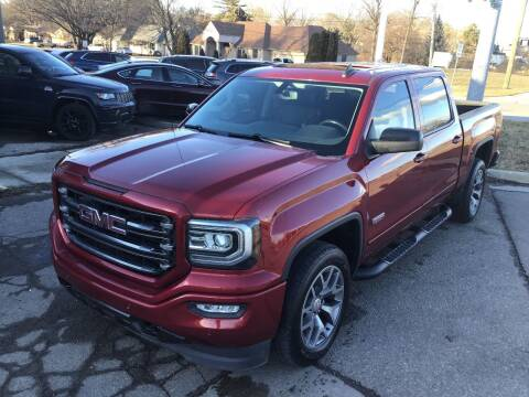 2018 GMC Sierra 1500 for sale at One Price Auto in Mount Clemens MI