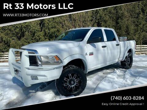 2012 RAM Ram Pickup 2500 for sale at Rt 33 Motors LLC in Rockbridge OH