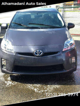 2011 Toyota Prius for sale at ALHAMADANI AUTO SALES in Spanaway WA