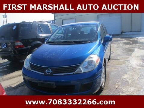 2008 Nissan Versa for sale at First Marshall Auto Auction in Harvey IL