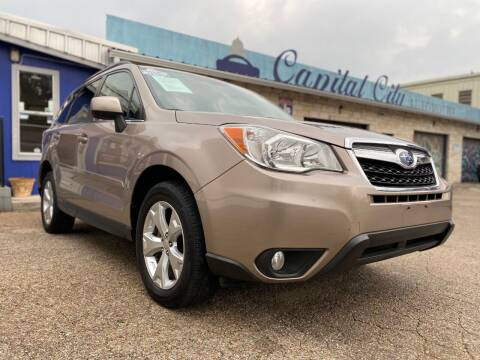 2014 Subaru Forester for sale at Capital City Automotive in Austin TX