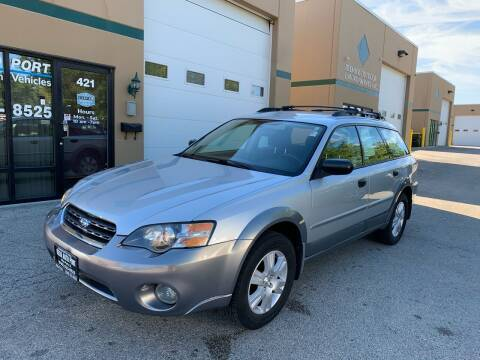2005 Subaru Outback for sale at REDA AUTO PORT INC in Villa Park IL