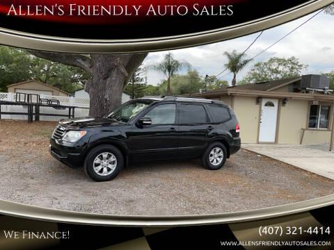 2009 Kia Borrego for sale at Allen's Friendly Auto Sales in Sanford FL