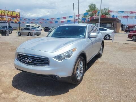2011 Infiniti FX35 for sale at Bickham Used Cars in Alamogordo NM