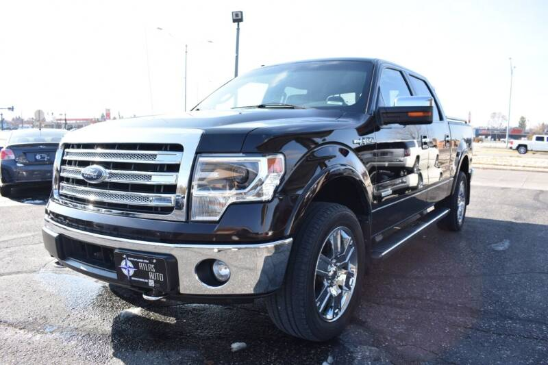 2013 Ford F-150 for sale at Atlas Auto in Grand Forks ND