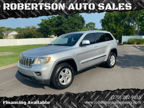 2012 Jeep Grand Cherokee for sale at ROBERTSON AUTO SALES in Bowling Green KY