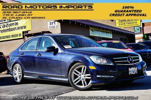 2013 Mercedes-Benz C-Class for sale at Road Motors Imports in El Cajon CA