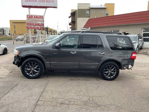 2017 Ford Expedition for sale at STS Automotive in Denver CO