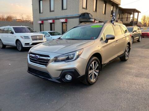2019 Subaru Outback for sale at Sisson Pre-Owned in Uniontown PA
