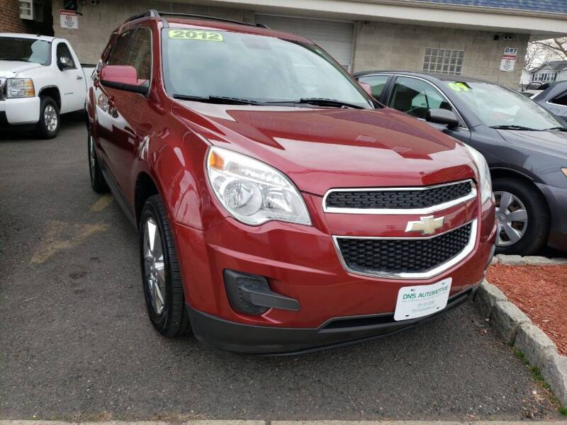 2012 Chevrolet Equinox for sale at DNS Automotive Inc. in Bergenfield NJ