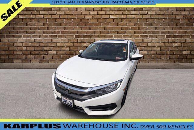 2016 Honda Civic for sale at Karplus Warehouse in Pacoima CA