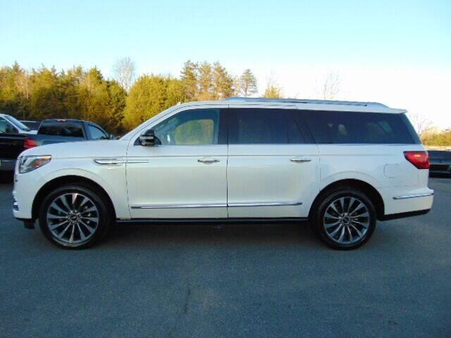 2019 Lincoln Navigator L for sale at E & M AUTO SALES in Locust Grove VA