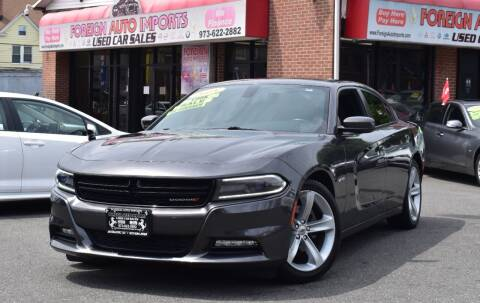 2018 Dodge Charger for sale at Foreign Auto Imports in Irvington NJ