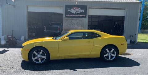 2013 Chevrolet Camaro for sale at Jack Foster Used Cars LLC in Honea Path SC