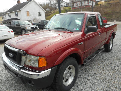 2005 Ford Ranger for sale at Sleepy Hollow Motors in New Eagle PA