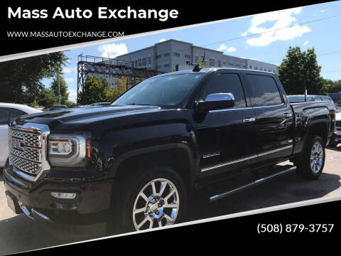 2017 GMC Sierra 1500 for sale at Mass Auto Exchange in Framingham MA