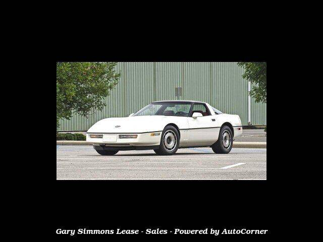 1985 Chevrolet Corvette for sale at Gary Simmons Lease - Sales in Mckenzie TN