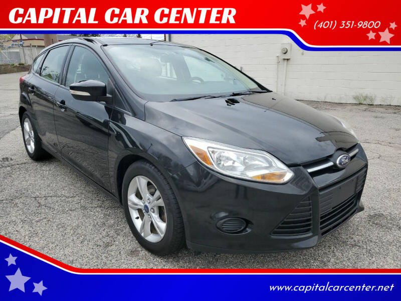 2013 Ford Focus for sale at CAPITAL CAR CENTER in Providence RI