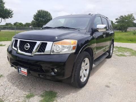 2012 Nissan Armada for sale at LA PULGA DE AUTOS in Dallas TX