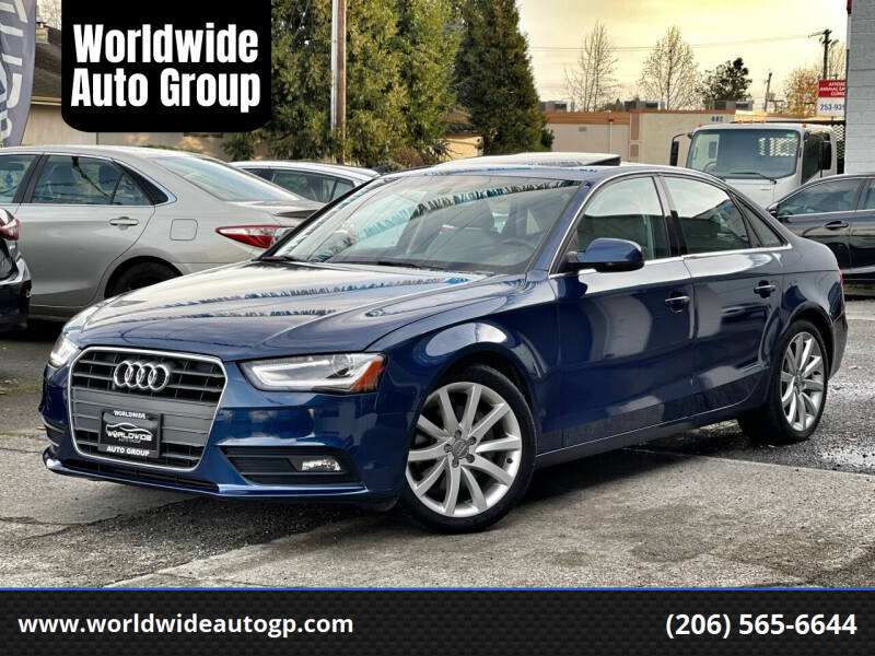 2013 Audi A4 for sale at Worldwide Auto Group in Auburn WA