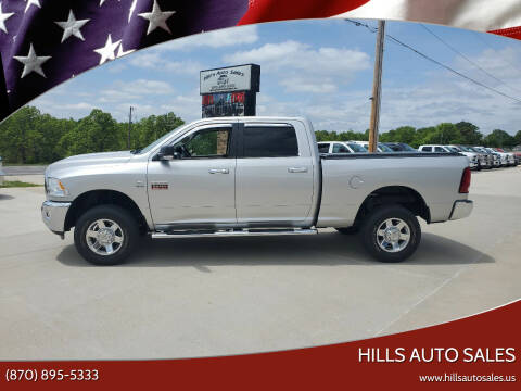 2012 RAM Ram Pickup 2500 for sale at Hills Auto Sales in Salem AR