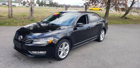 2013 Volkswagen Passat for sale at Elite Auto Sales in Herrin IL
