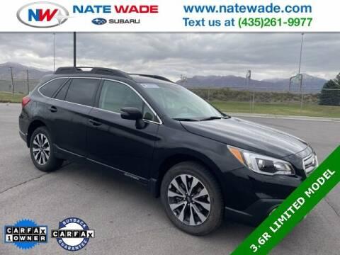 2016 Subaru Outback for sale at NATE WADE SUBARU in Salt Lake City UT