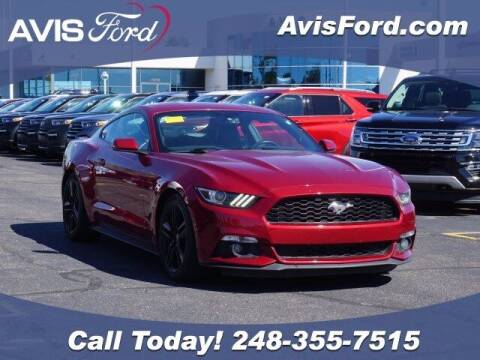 2016 Ford Mustang for sale at Work With Me Dave in Southfield MI