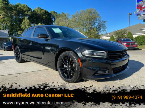 2016 Dodge Charger for sale at Smithfield Auto Center LLC in Smithfield NC