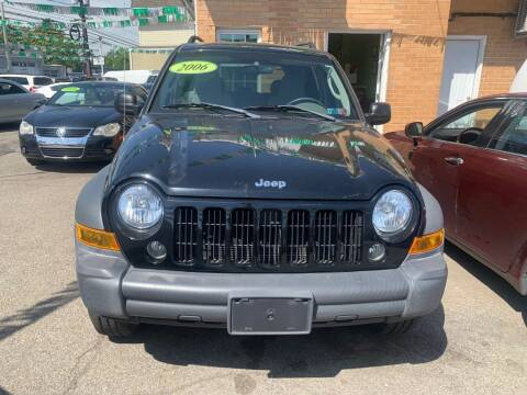 2006 Jeep Liberty for sale at Park Avenue Auto Lot Inc in Linden NJ