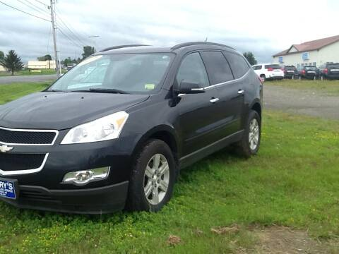 2010 Chevrolet Traverse for sale at Garys Sales & SVC in Caribou ME