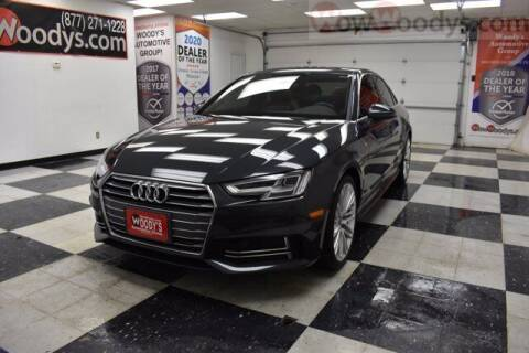 2018 Audi A4 for sale at WOODY'S AUTOMOTIVE GROUP in Chillicothe MO