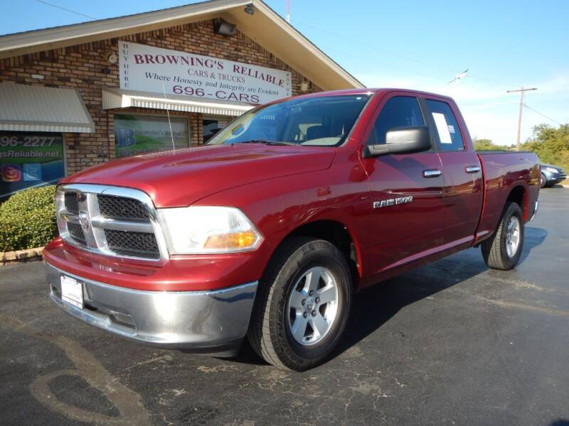 2011 RAM Ram Pickup 1500 for sale at Browning's Reliable Cars & Trucks in Wichita Falls TX