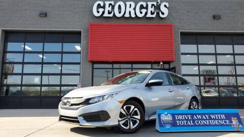 2017 Honda Civic for sale at George's Used Cars - Telegraph in Brownstown MI