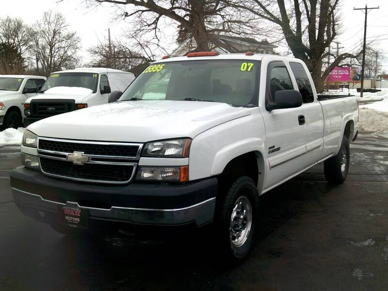 2007 Chevrolet Silverado 2500HD Classic for sale at Stoltz Motors in Troy OH